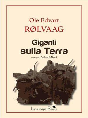 cover image of Giganti sulla Terra