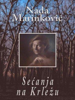 cover image of Sećanja na Krležu