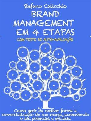 cover image of Brand management em 4 etapas