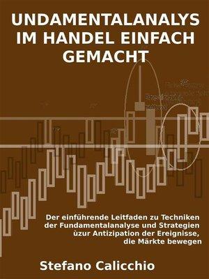 cover image of Fundamentalanalyse im handel einfach gemacht