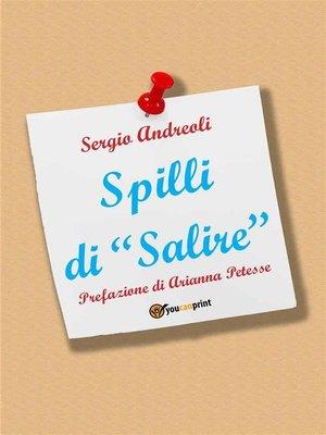 cover image of Spilli di Salire