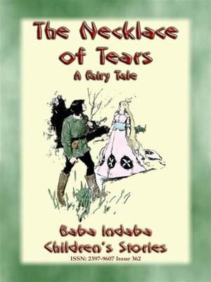 cover image of THE NECKLACE OF TEARS--A Children's Fairy Tale teaching the lesson of humility