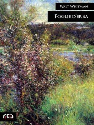 cover image of Foglie d'erba