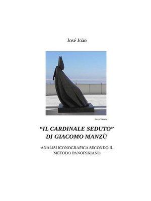 """cover image of """"Il cardinale seduto"""" di Giacomo Manzù--Analisi iconografica secondo il metodo Panofskiano"""