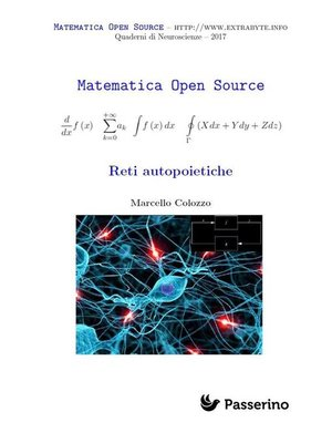 cover image of Reti autopoietiche