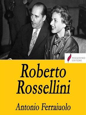 cover image of Roberto Rossellini