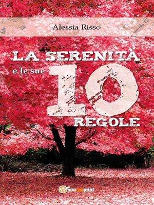 cover image of La serenità e le sue 10 regole