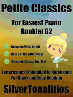 cover image of Petite Classics for Easiest Piano Booklet G2