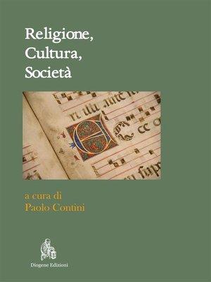 cover image of Religione, Cultura e Società