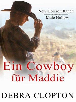 cover image of Ein Cowboy für Maddie