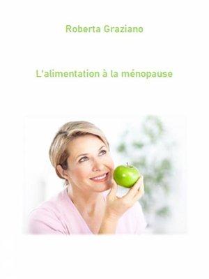 cover image of L'alimentation À La Ménopause