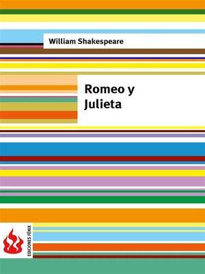 cover image of Romeo y Julieta (low cost). Edición limitada