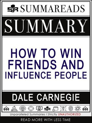 cover image of Summary of How to Win Friends & Influence People by Dale Carnegie