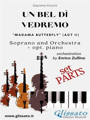 """cover image of """"Un bel dì vedremo"""" Soprano and Orchestra (Parts)"""