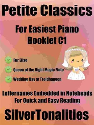 cover image of Petite Classics for Easiest Piano Booklet C1