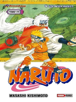 cover image of Naruto 11