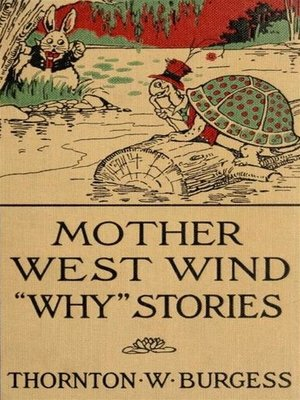 cover image of Mother West Wind 'Why' Stories