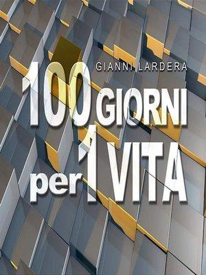 cover image of 100 giorni per una vita