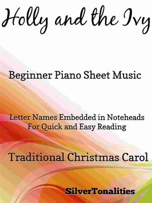 cover image of Holly and the Ivy Beginner Piano Sheet Music