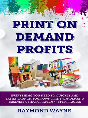 cover image of Print On Demand Profits