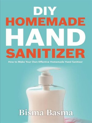 cover image of DIY Homemade Hand Sanitizer