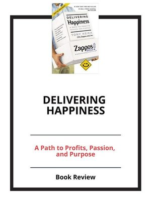 cover image of Delivering Happiness