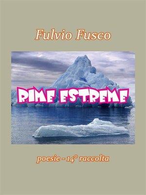 cover image of Rime Estreme
