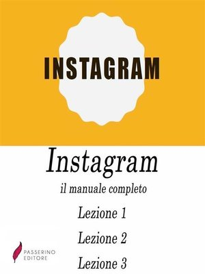 cover image of Instagram, il manuale completo