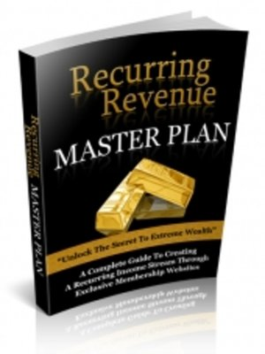 cover image of Recurring Revenue Master Plan