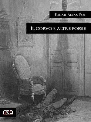 cover image of Il corvo e altre poesie