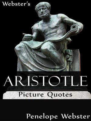 cover image of Webster's Aristotle Picture Quotes