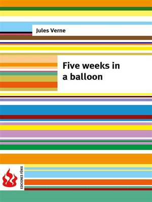cover image of Five weeks in a balloon (low cost). Limited edition