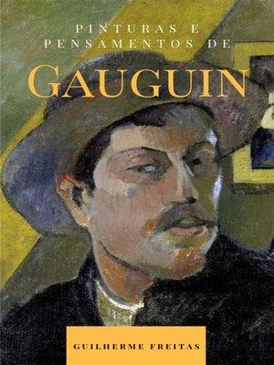 cover image of Pinturas e pensamentos de Gauguin