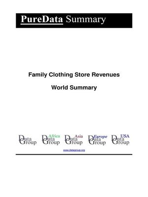 cover image of Family Clothing Store Revenues World Summary