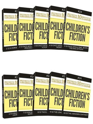 cover image of Perfect 10 Children's Fiction Plots #24 Complete Collection