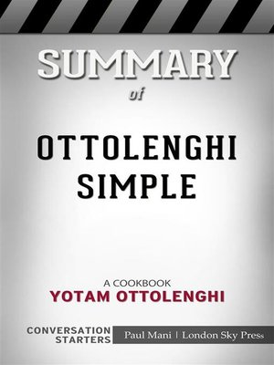 cover image of Ottolenghi Simple--A Cookbook​​​​​​​ by Yotam Ottolenghi​​​​​​​ | Conversation Starters