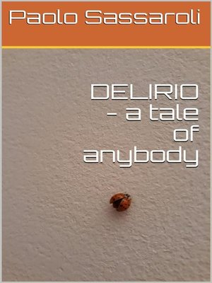 cover image of DELIRIO--a tale of anybody