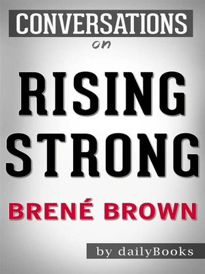 cover image of Rising Strong--by Brené Brown