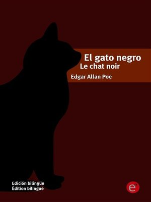 cover image of El gato negro/le chat noir