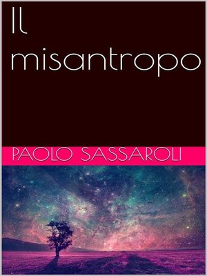 cover image of Il misantropo