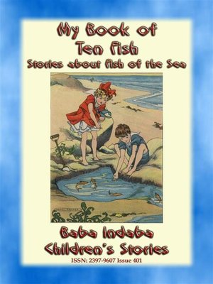 cover image of MY BOOK OF TEN FISH--A Baba Indaba Children's Story