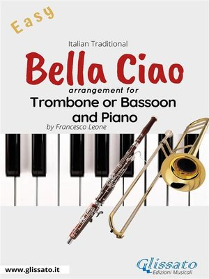 cover image of Bella Ciao--Trombone or Bassoon and Piano