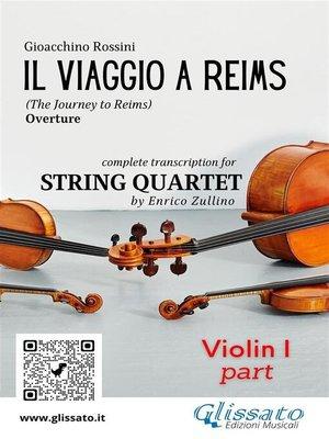 cover image of Il Viaggio a Reims (overture) String quartet--Set of parts