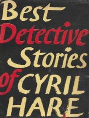 cover image of Best Detective Stories of Cyril Hare