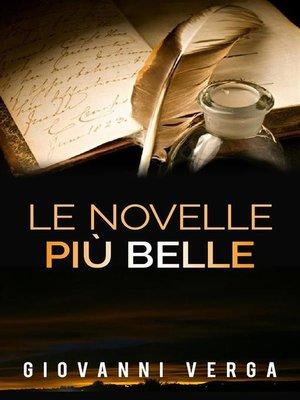 cover image of Le novelle più belle