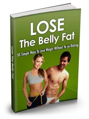 cover image of Lose the belly fat