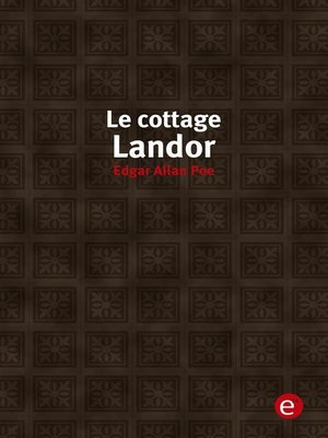 cover image of Le cottage landor
