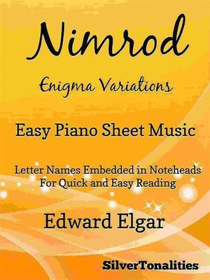 cover image of Nimrod Enigma Variations Easy Piano Sheet Music
