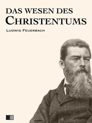 cover image of Das Wesen des Christentums