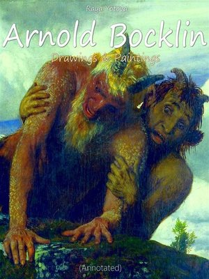 cover image of Arnold Bocklin-- Drawings & Paintings (Annotated)